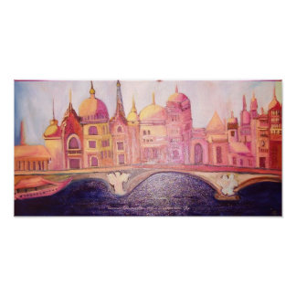 Universal Exposition 1900 Paris in an exotic mood Poster
