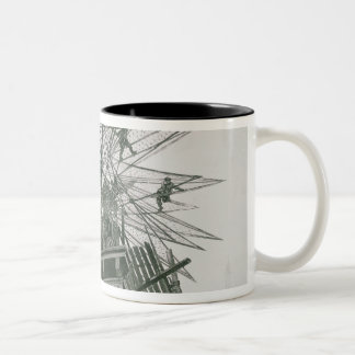 Universal Exposition of 1900 Two-Tone Coffee Mug