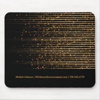 Universal Golden Star Light Design Mouse Pad