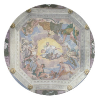 Universal Harmony, or Divine Love, from the ceilin Party Plate