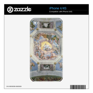Universal Harmony, or Divine Love, from the ceilin Skins For The iPhone 4