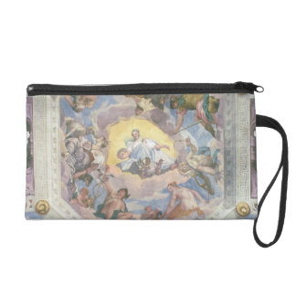 Universal Harmony, or Divine Love, from the ceilin Wristlet Purse