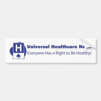 Universal Healthcare Now! Car Bumper Sticker
