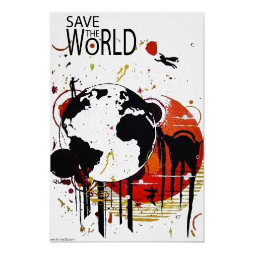 Universal HERO Canvas Poster