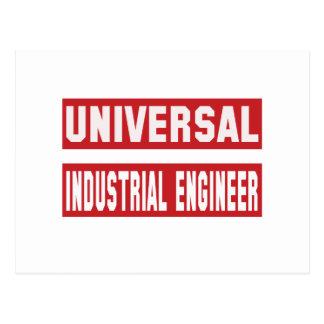 Universal Industrial engineer Postcard