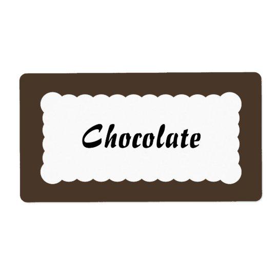 Universal Label Chocolate Brown