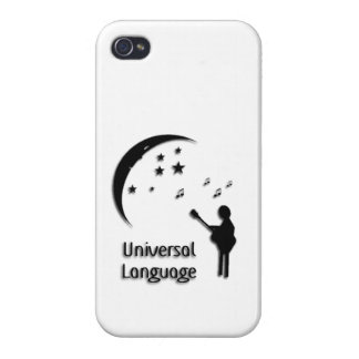 Universal Language Music Design Covers For iPhone 4