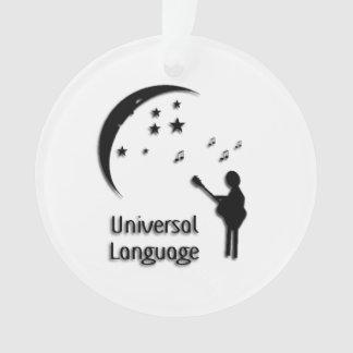 Universal Language Music Design Ornament