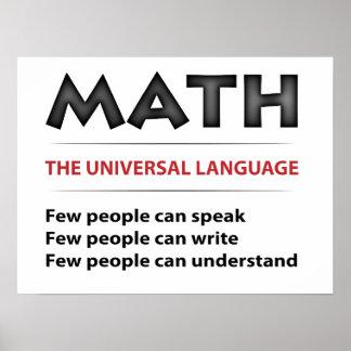 Universal Language Print