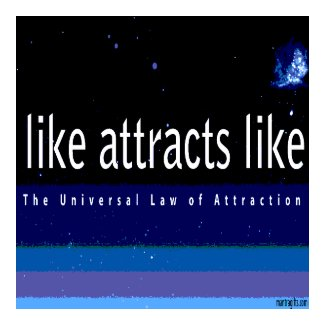 Universal Law of Attraction Magnet magnet