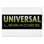 Universal Legacies Team Wear Greeting Card