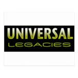 Universal Legacies Team Wear Postcard