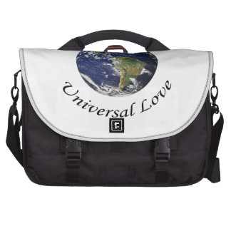 Universal Love on earth Commuter Bag