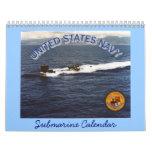 Universal Navy Submarine Calendar