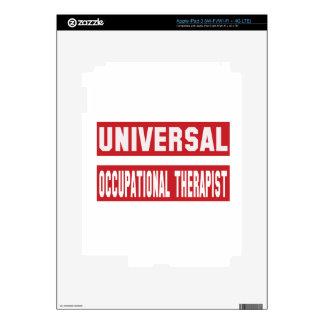 Universal Occupational Therapist. iPad 3 Skin
