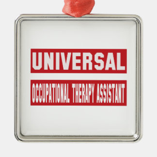 Universal Occupational Therapy Assistant. Metal Ornament