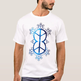 Universal Peace and Love Fractal T-Shirt