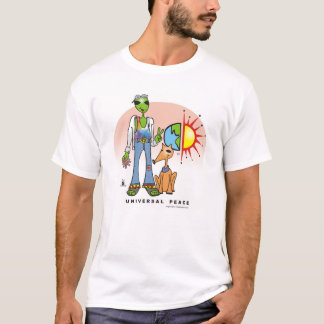 Universal Peace by Gregory Gallo T-Shirt