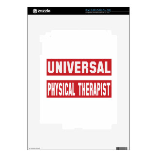 Universal Physical Therapist. iPad 2 Decal