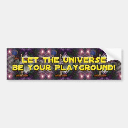 Universal Playground Bumper Sticker