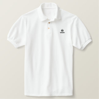 Universal polo! Can be worn for any occasion! Embroidered Polo Shirt