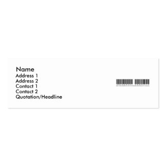 Universal-Product-Banner Mini Business Card
