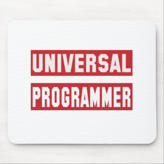 Universal Programmer Mouse Pad
