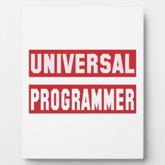 Universal Programmer Photo Plaques