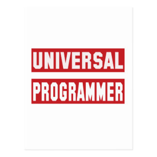Universal Programmer Postcard