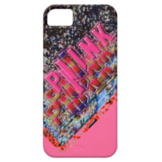 Universal punky rosado 1 de Barely There del iPhone 5 Carcasa