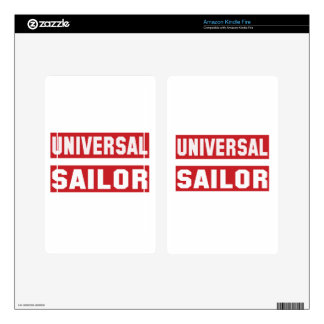 Universal Sailor Skin For Kindle Fire