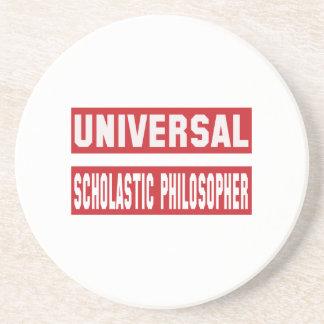 Universal Scholastic philosopher. Coaster