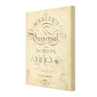 universal school atlas canvas print