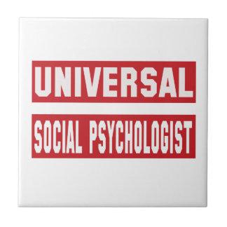 Universal Social psychologist. Tile