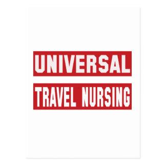 Universal Travel nursing. Postcard