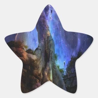 Universal Tree of Life Star Sticker