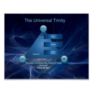 Universal Trinity Large Format Poster