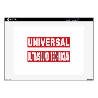 Universal Ultrasound Technician. Decals For Laptops