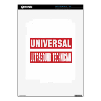 Universal Ultrasound Technician. Decals For The iPad 2