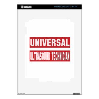 Universal Ultrasound Technician. Skins For iPad 3