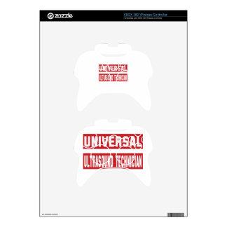 Universal Ultrasound Technician. Xbox 360 Controller Decal