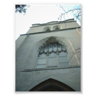 Universal Unitarian Church Tower, Buffalo, NY Photo Print