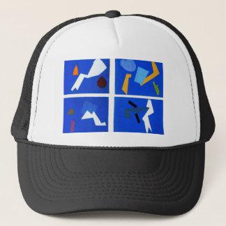 Universal war by Olga Rozanova Trucker Hat