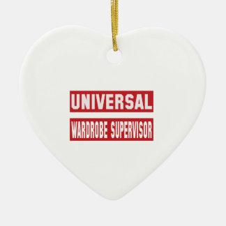 Universal Wardrobe Supervisor. Ceramic Ornament