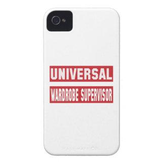 Universal Wardrobe Supervisor. iPhone 4 Case-Mate Case