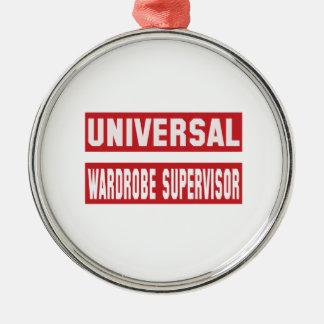 Universal Wardrobe Supervisor. Metal Ornament