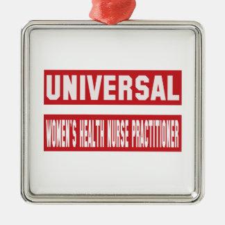 Universal Women's Health Nurse Practitioner. Metal Ornament