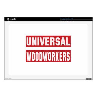 Universal Woodworkers Laptop Skin