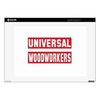 Universal Woodworkers Skins For Laptops