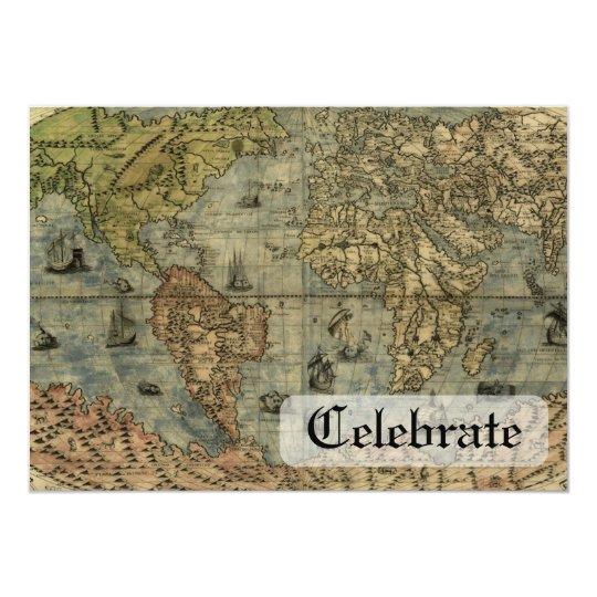 Universale Descrittione Map Card
